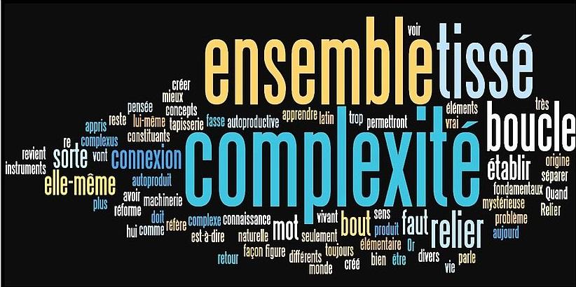 Pensée complexe - Nuage de mots clés