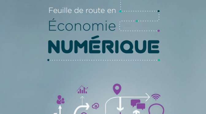 Feuille de route- Économie numérique, Gouvernement du Québec, 2015