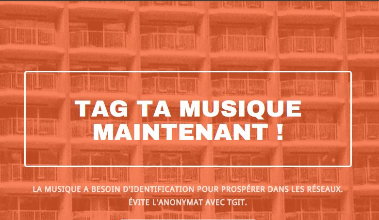 TGiT - Tag ta musique: indexation de contenus musicaux
