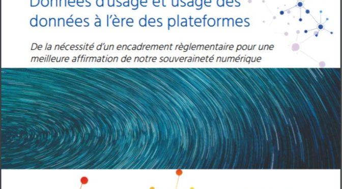 Données d'usage et usage des données: une étude et un souhait