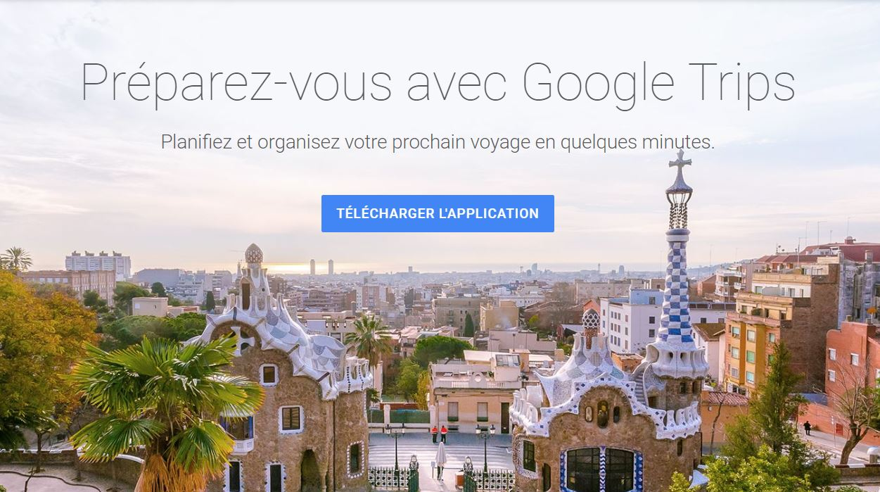Service et application Google Voyages