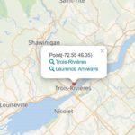 Wikidata - Cartographie des films et des lieux où se déroule l'action.